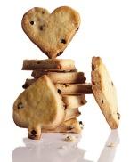 Valentine Bourban Currant Cookies