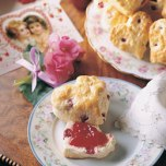 Heart Shaped Scones