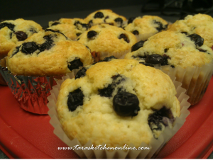 Tara's Blueberry Muffins