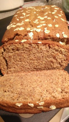 Wheat Chia Banana Bread