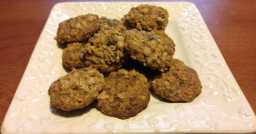 Soft & Chewy Oatmeal, Cranberry, Currant and Raisin Cookie