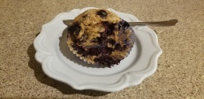 Whole Wheat Blueberry Muffins 1
